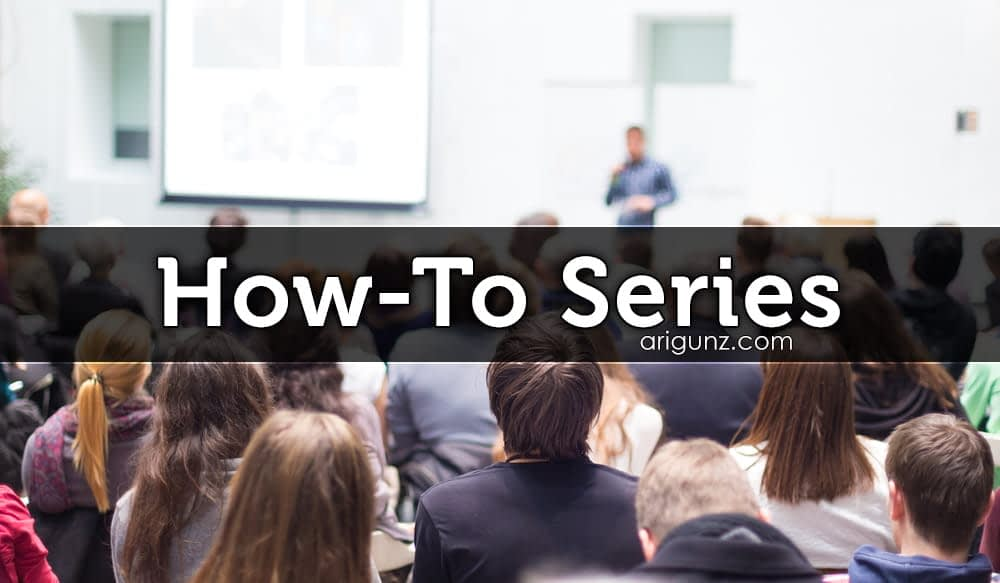 How To Series