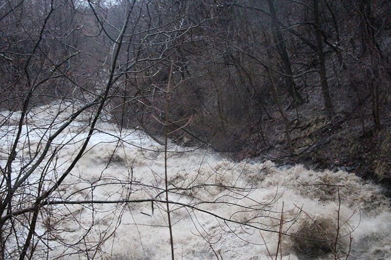 Euclid Creek Raging Waters