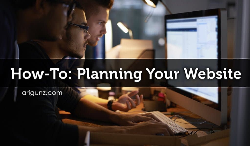 How To: Planning Your Website