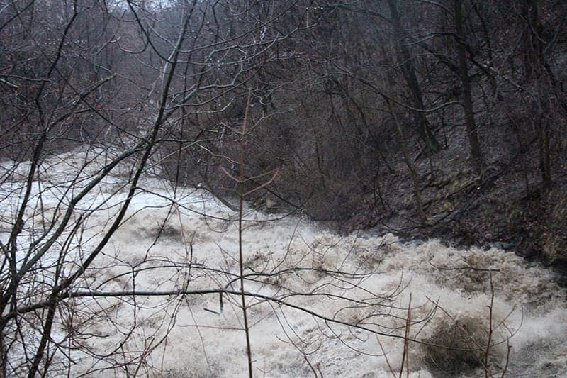 Euclid Creek Raging Waters